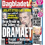HJEMME: Dagbladet 18. mai 2017.
