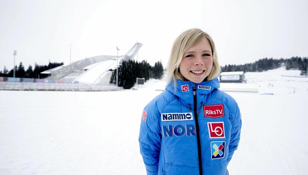 MERKER KJØRET: Maren Lundby. Foto: Bjørn Langsem / Dagbladet