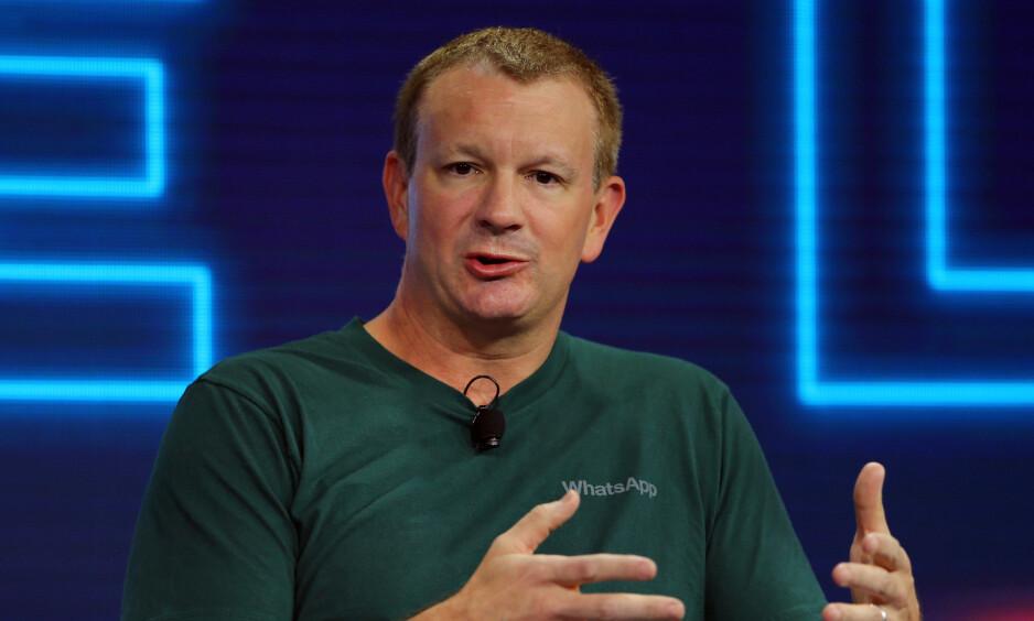 AKSJON MOT FACEBOOK: Whatsapp-medgründer Brian Acton har kastet seg på Foto: Mike Blake/ Reuters/ NTB Scanpix