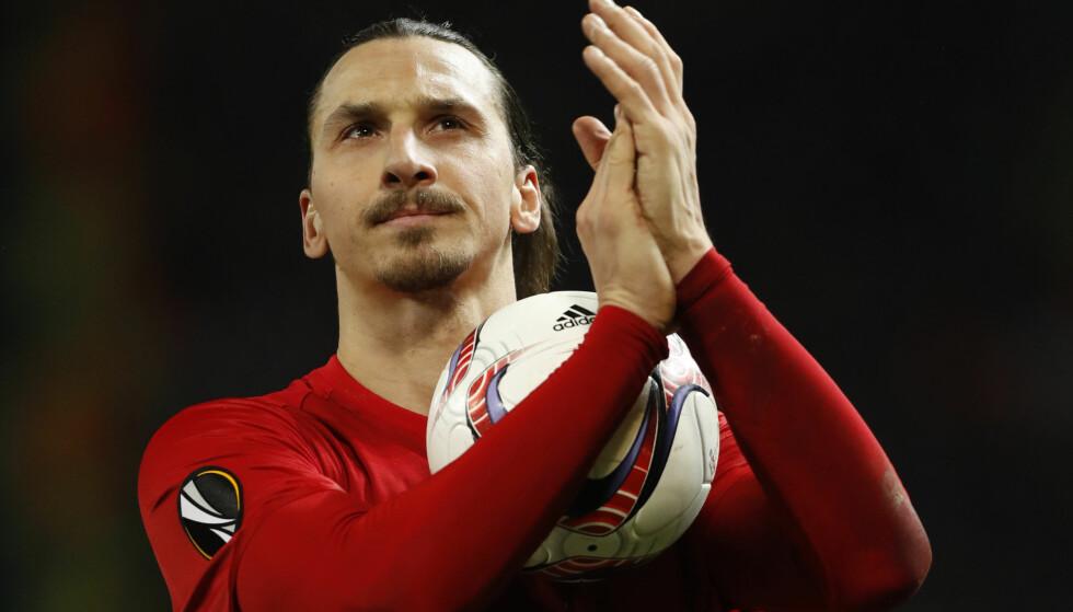 FERDIG: Zlatan Ibrahimovic' karriere i Manchester United er over. Foto: NTB Scanpix