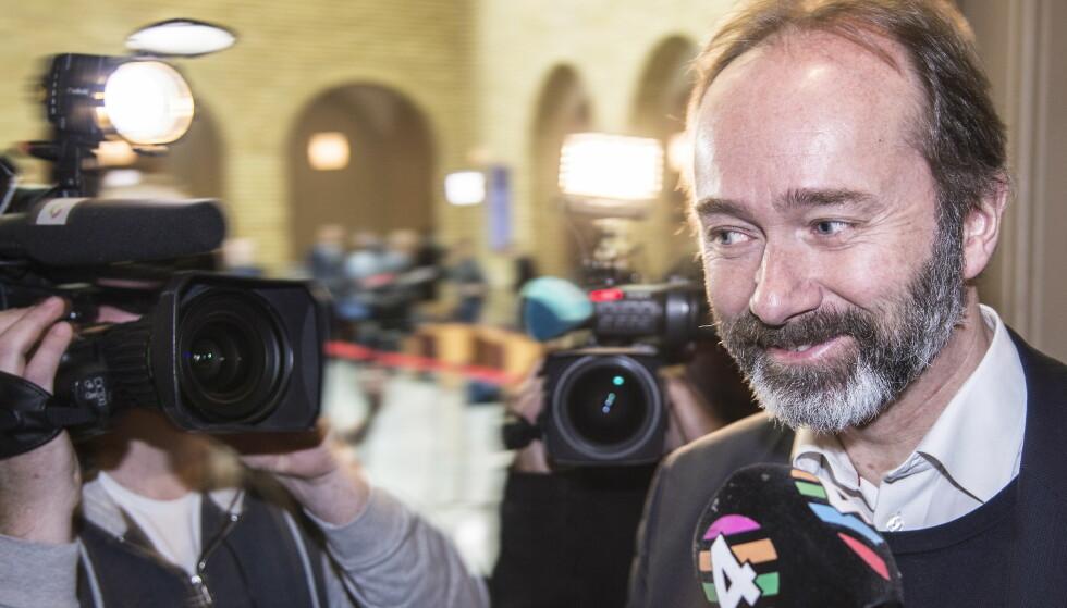 STERK POSISJON: Ipsos meningsmåling, gjort på oppdrag fra Dagbladet, viser at Trond Giske står sterkt hos mange Ap-velgere. Foto: Hans Arne Vedlog / Dagbladet