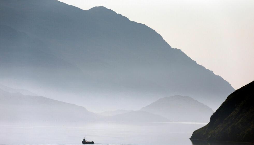 VÆRBITT LANDSKAP: Isle of Lewis, en del av øygruppen Ytre Hebridene, er hjem for Peter Mays kritikerroste krimtrilogi. Foto: NTB SCANPIX