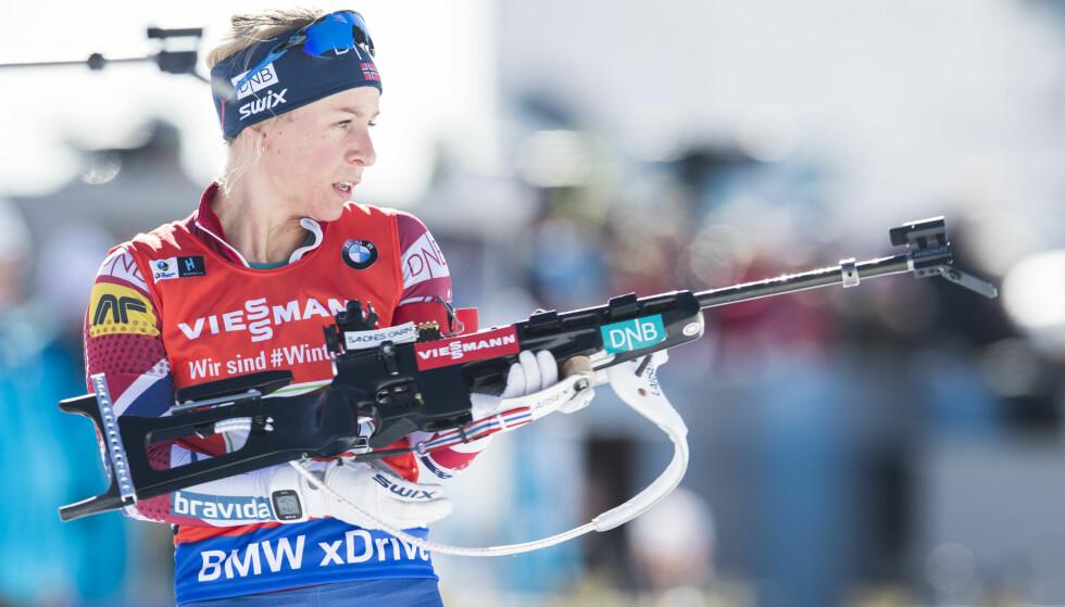 IMPONERTE: Tiril Eckhoff. Foto: Håkon Mosvold Larsen / NTB scanpix.