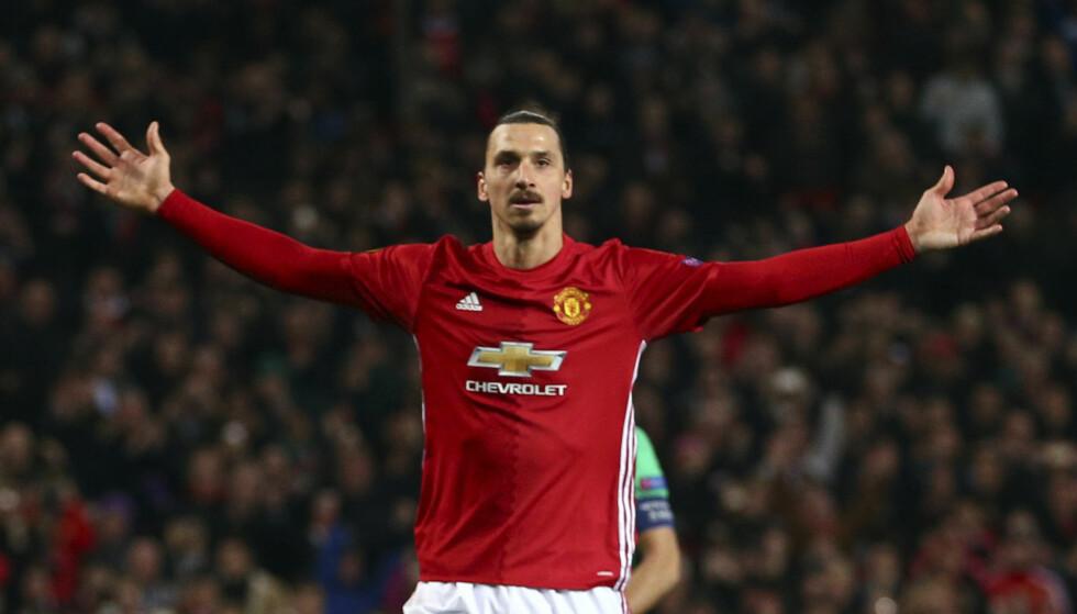 NY KLUBB: Zlatan Ibrahimovics tid i Manchester United er over. USA er neste stopp. Foto: Dave Thompson / AP / NTB scanpix.