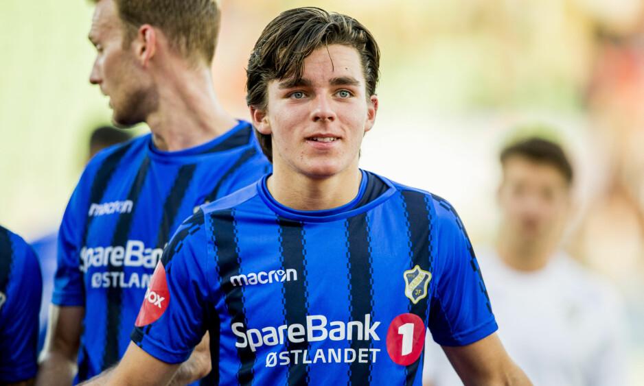 ETTERTRAKTET: En rekke storklubber jakter Stabæk-jubelen Hugo Vegard Vetlesen (18). Foto: Vegard Wivestad Grøtt / NTB scanpix