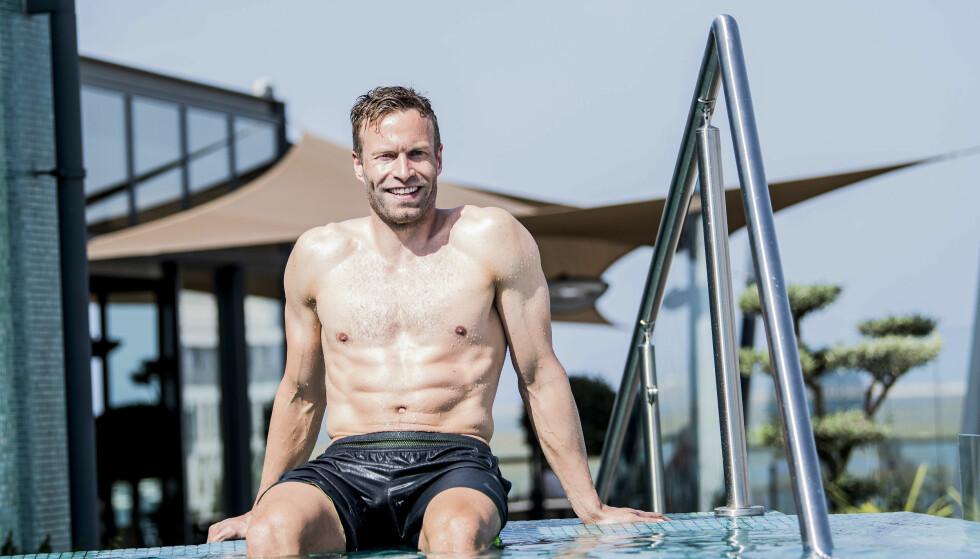 INNBRUDD: Andreas Ygre Wiig (37) skulle ha visning på leiligheten sin da alt gikk galt. Nå ber han publikum om hjelp. Foto: Thomas Rasmus Skaug / Dagbladet