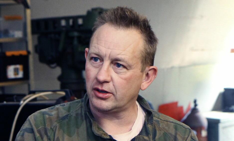 DRAP: Rettsaken mot Peter Madsen pågår nå i København byrett. Madsen er tiltalt for å ha drept den svenske journalisten Kim Wall. Foto: deadlinepress.dk