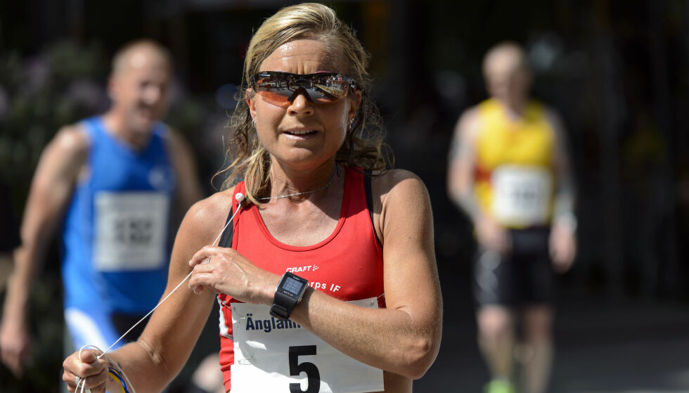 POSITIV PRØVE: Langdistanseløperen Petra Skiöld er tatt for bruk av et ulovlig middel. Foto: Anders Bjurö / Bildbyrån.