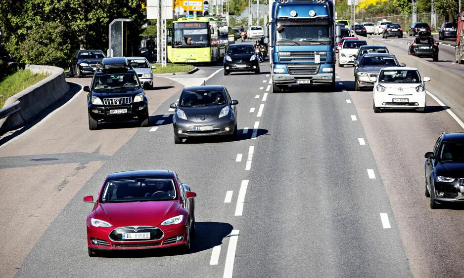 FEIL: Det er ikke riktig å hevde at Norge sponser elbileiere med 40 milliarder i året. Foto: Lars Eivind Bones / Dagbladet