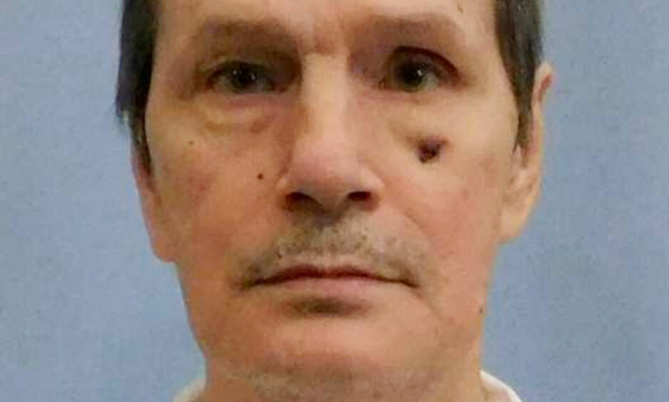 DØMT TIL DØDEN: Doyle Lee Hamm (61). Foto: Myndighetene i Alabama / Reuters / NTB Scanpix