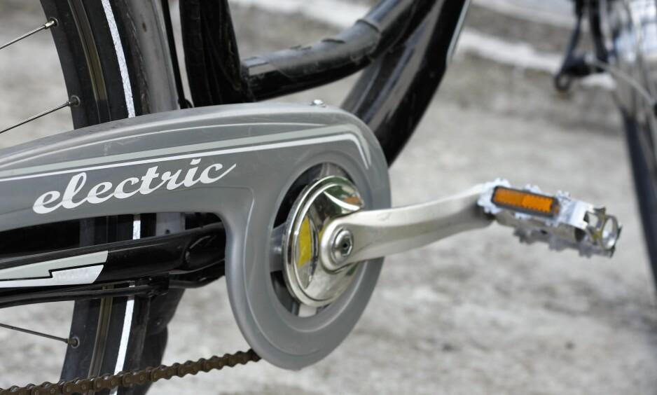 FRYKTELIG FART: En svensk syklist ble mandag morgen stoppet da han gjorde 98 kilometer i timen på elsykkel. Illustrasjonsfoto: Kuttly / Shutterstock / NTB Scanpix