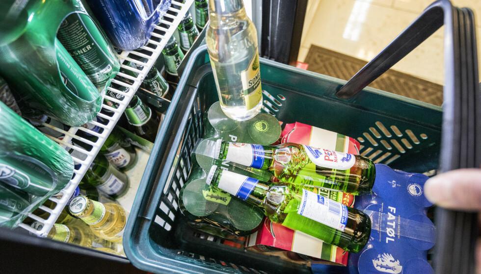 ALKOHOL: Turistkommuner topper lista for alkoholsalg. Foto: Gorm Kallestad / NTB scanpix
