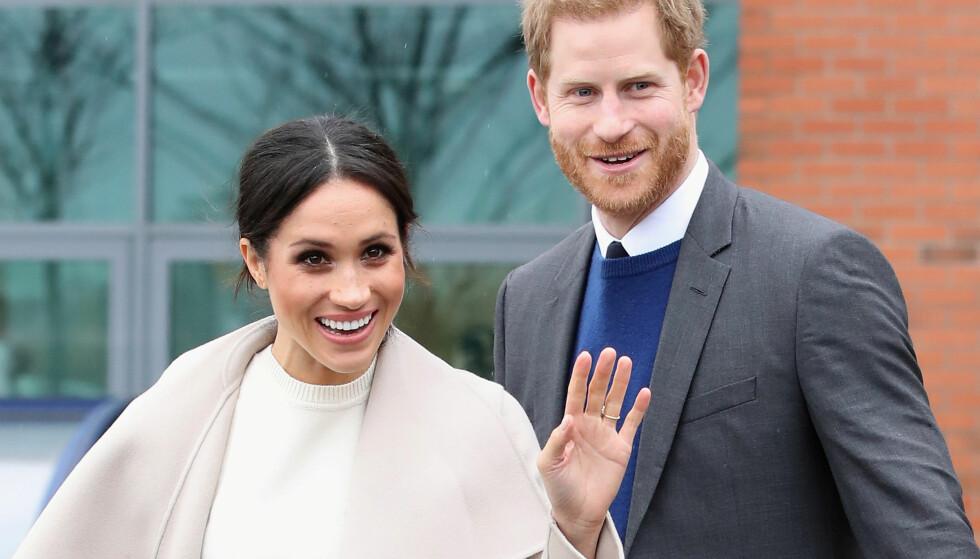 BRYLLUPSKRISE: Førstkommende lørdag gifter Meghan Markle seg med prins Harry. Nå, bare dager før den store begivenheten, har faren hennes trukket seg fra bryllupet. Foto: NTB scanpix