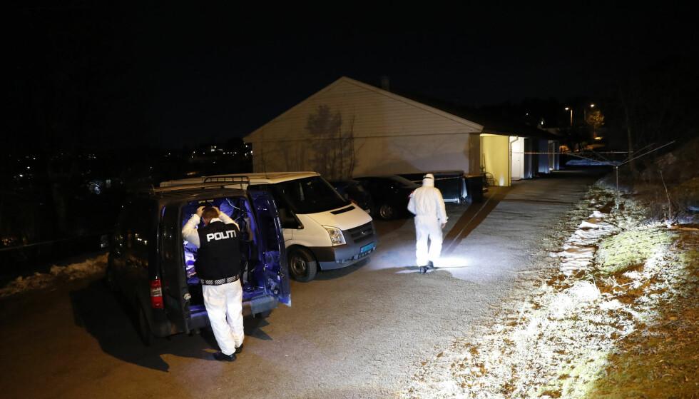 LØSLATT: Mannen i 50-årene som er siktet etter at en kvinne i 40-årene ble funnet død i et hus på Husøy ved Tønsberg onsdag, blir løslatt i løpet av torsdagen. Foto: Terje Bendiksby / NTB scanpix
