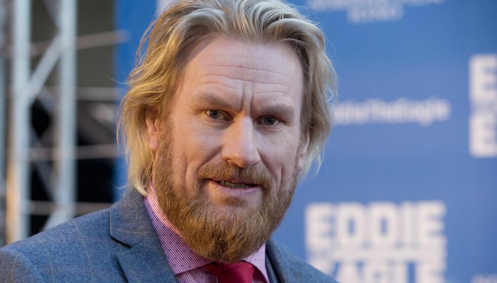 SKAL SPILLE I MARVEL-FILM: Skuespiller Rune Temte, her før premieren for filmen «Eddie the Eagle» i 2016. Foto: Håkon Mosvold Larsen/NTB Scanpix