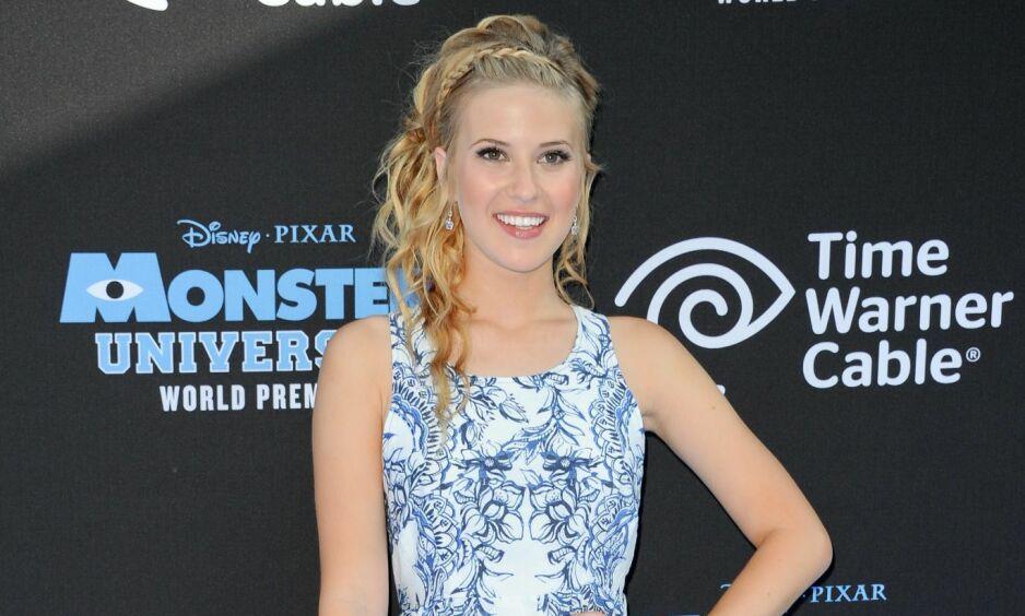 TAUS: Den tidligere Disney Channel-stjerna Caroline Sunshine (22) har ikke oppdatert noen av sine sosiale medier-kontoer etter at Det hvite hus bekreftet hennes ansettelse. Hun har heller ikke uttalt seg offentlig om sin nye stilling. Foto: NTB Scanpix