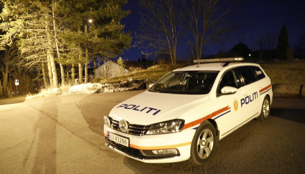 ETTERFORSKNING: Politiet iverksatte straks etterforskning etter at kvinnen ble funnet død. Foto: Terje Bendiksby / NTB Scanpix