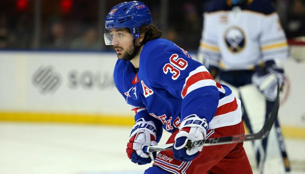 ÉN UKE IGJEN: - Jeg ønsker å være i New York Rangers, sier Mats Zuccarello. Foto: NTB scanpix