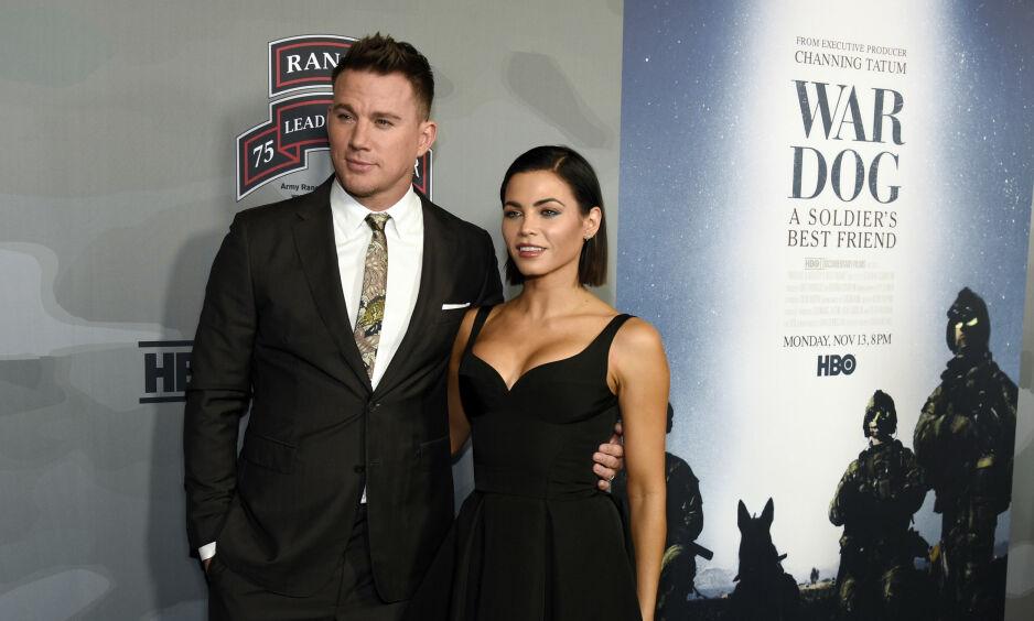Skilles: Channing Tatum og Jenna Dewan møttes i 2006, og giftet seg i 2009. Nå har de bestemt seg for å skille lag. Foto: NTB Scanpix