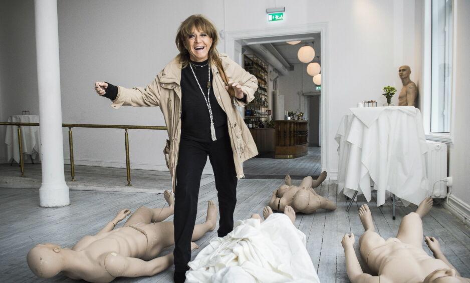 DØD: Den svenske artisten Lill-Babs er død, 80 år gammel. Her fotografert i 2016, da Dagbladet møtte henne sist. Foto: Lars Eivind Bones / Dagbladet