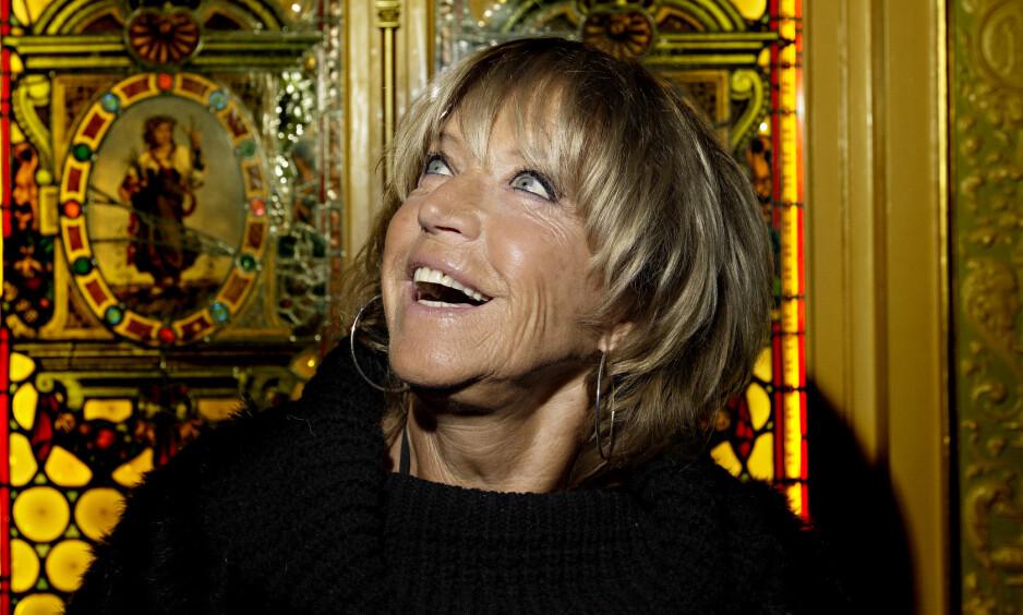 DØD: Den svenske artisten Lill-Babs er død, 80 år gammel. Her fotografert i 2013, da Dagbladet møtte henne i Stockholm. Foto: Anita Arntzen / Dagbladet