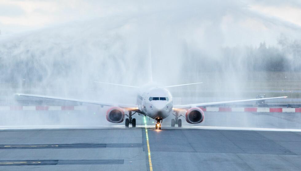 FORSINKELSER: Datafeil hos Eurocontrol gjør at en del fly til og fra Gardermoen blir forsinket. Foto: NTB Scanpix
