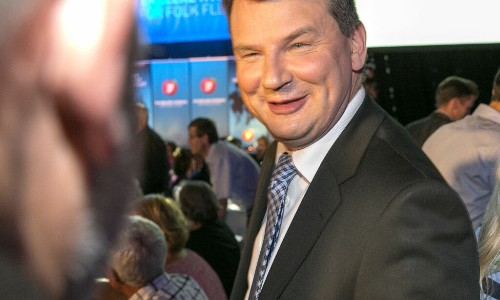 Tor Mikkel Wara blir justisminister