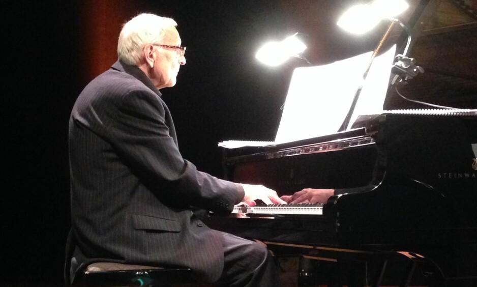 PIANIST I SÆRKLASSE: Egil Kapstad, som døde i fjor sommer, var kjent som en av de største innen norsk pianojazz gjennom en mannsalder. Foto: Fredrik Wandrup