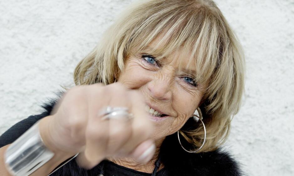 GLEDESSPREDER: Lill-Babs var kjent for sin kløkt, humor og humør. Hennes siste dager sto i sterk kontrast til nettopp dette og kvinnen som hadde bergtatt Sverige siden 1960-tallet. Foto: Anita Arntzen / Dagbladet