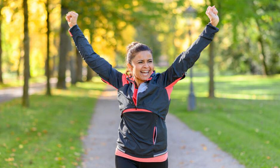 TREN DEG YNGRE: Èn type trening kan være med på å påvirke din biologiske alder, ifølge idrettsprofessor. (Foto: Michaelheim / Shutterstock / NTB scanpix)