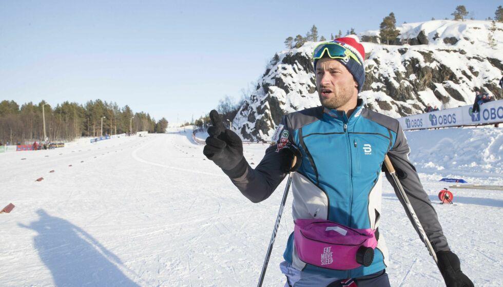 SPRINT-AKTUELL: Petter Northug kan ende opp på sprintlandslaget neste sesong. Sprinttrener Arild Monsen ønsker seg et større mannskap. Foto: NTB Scanpix/ Terje Bendiksby