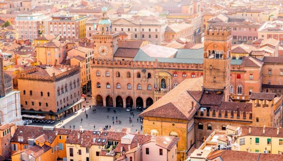 ARRESTERT: Sekten hadde tilhørighet i Emilia-Romagna i Italia, hvor Bologna er en av byene. Foto: NTB Scanpix/Shutterstock