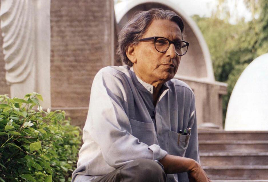 FOREVER YOUNG: Balkrishna Doshi (f. 1927) tildeles Pritzker-prisen for 2018. Alle foto: Pritzker Architecture Prize/VSF