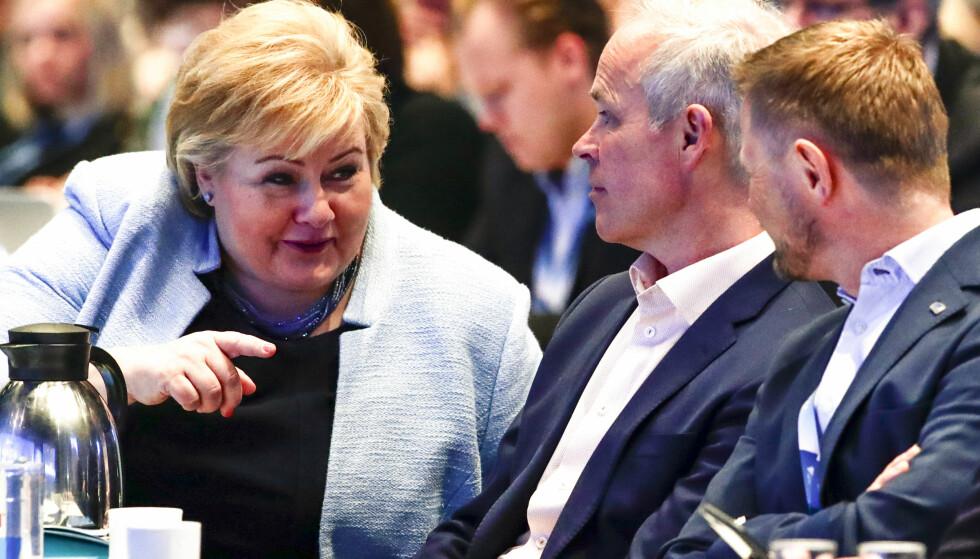 EGGDEBATT: Den krasseste debatten ved Høyre landsmøte i år er diskusjonen om eggdonasjon. Foto: Foto: Lise Åserud / NTB scanpix