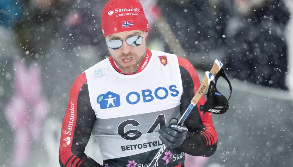 SEIER: Tord Asle Gjerdalen tok en klar seier inn til Bardufoss lørdag. Foto: Terje Pedersen / NTB scanpix