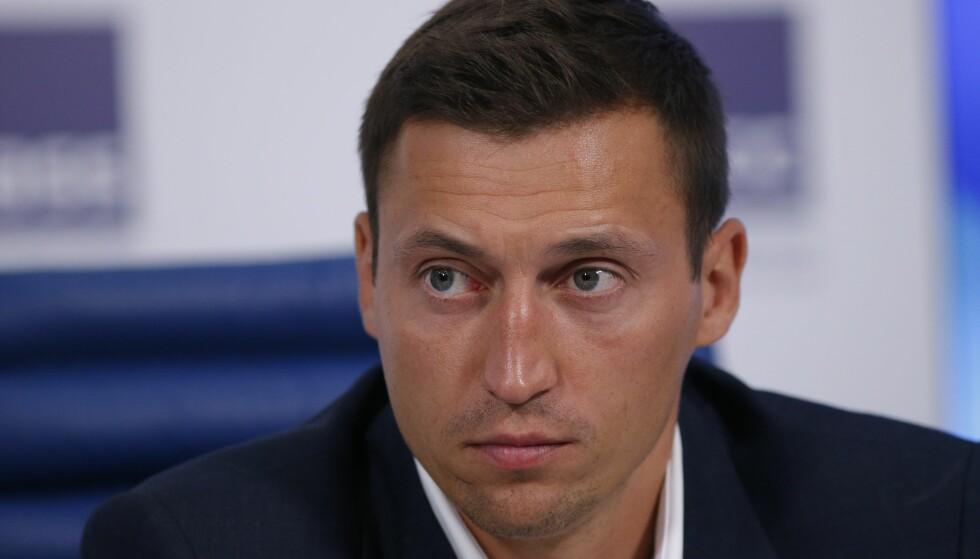 LEGGER OPP: Alexander Legkov. Foto: AP Photo/Alexander Zemlianichenko