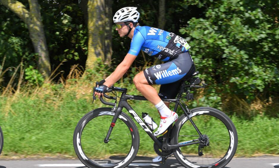 HJERTESTANS: Michael Goolaerts fikk hjertestans under Paris-Roubaix og er sendt til sykehus. FOTO: Tim de Waele (TDWSport.com)