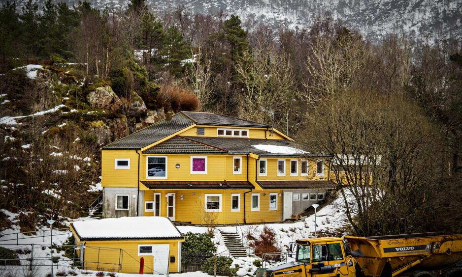 BARNEVERNSINSTITUSJON: Flere ungdommer ruset seg tungt på Vestlundveien ungdomssenter i Bergen. Foto: Jørn H. Moen