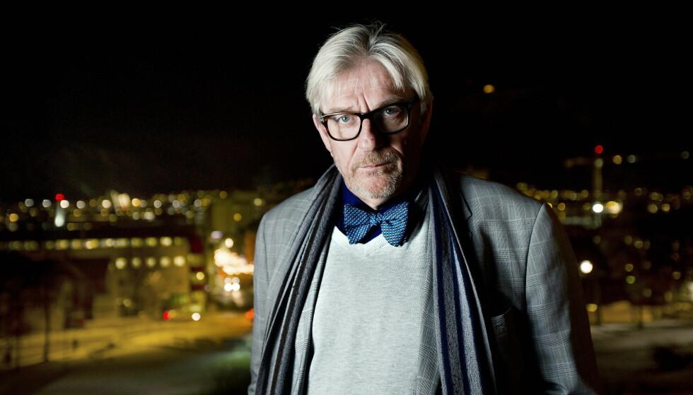 SKJØNTE INGENTING: Svenn A. Nielsen ble overrasket da han så et intervju med seg selv i avisa Nordlys. Foto: Bjørn Langsem / Dagbladet.