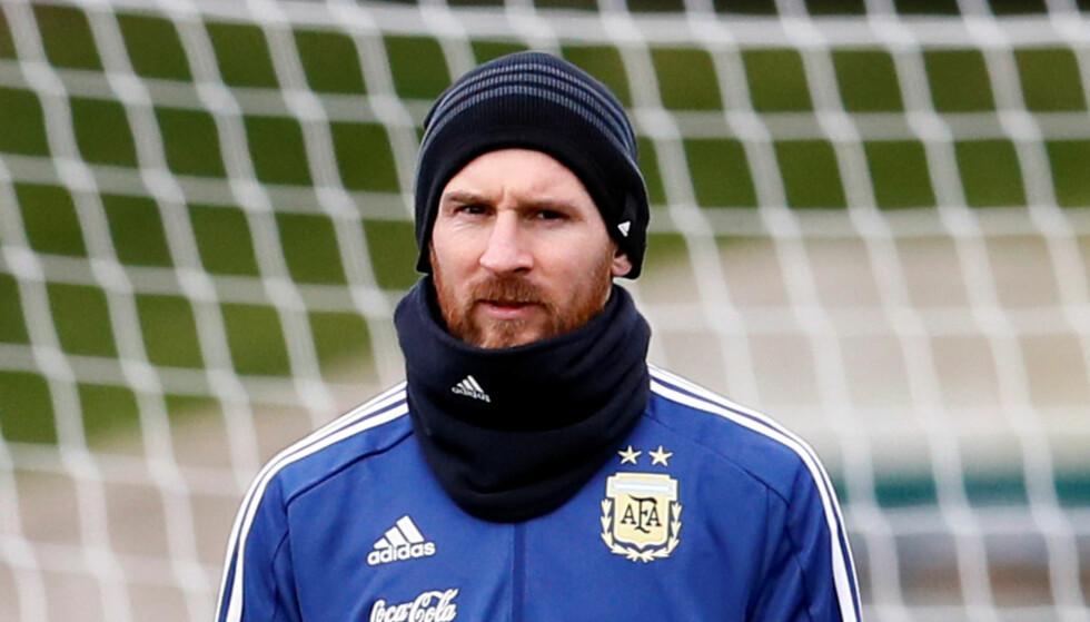 STJERNE: Lionel Messi vil bidra til at fotball-VM i 2030 ender i Argentina. Foto: Reuters/Jason Cairnduff