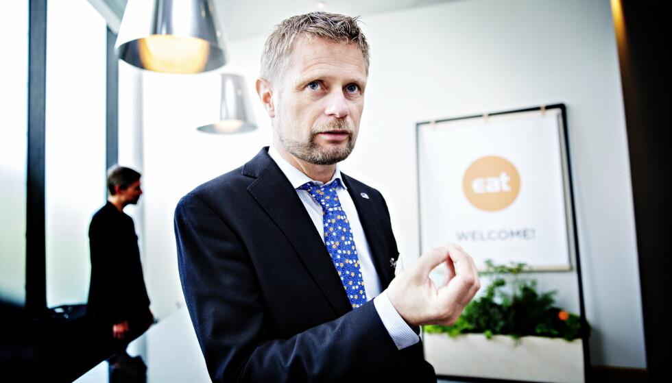 <strong>LOVER INKLUDERING - IKKE LEGALISERING:</strong> Helseminister Bent Høie (H) sier brukerne skal blir hørt i arbeidet med en ny ruspolitikk. Foto: Nina Hansen / Dagbladet