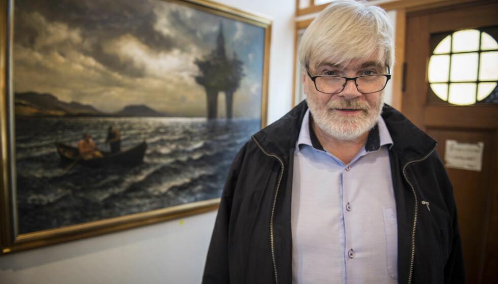 VILLE PÅVIRKE: Leif Sande kjøpte inn 13 000 eksemplarer av «Mafiela» da han var forbundsleder i Industri Energi. Foto: Øistein Norum Monsen / Dagbladet