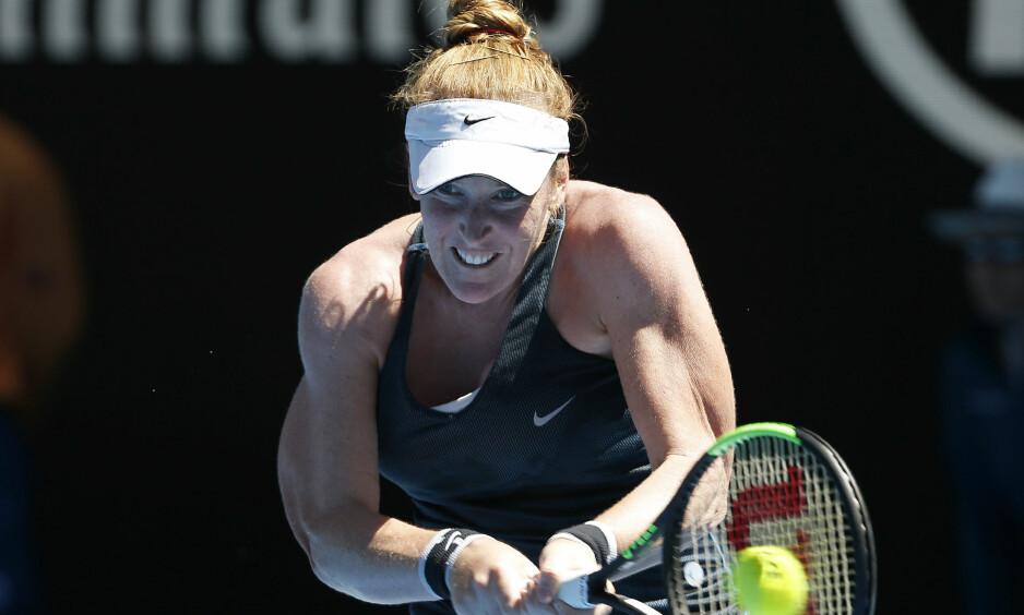 BER OM RESPEKT: Madison Brengle mener spillerne må behandles med mer respekt og verdighet av tennismyndighetene. Foto: Toru Hanai / Reuters / NTB Scanpix