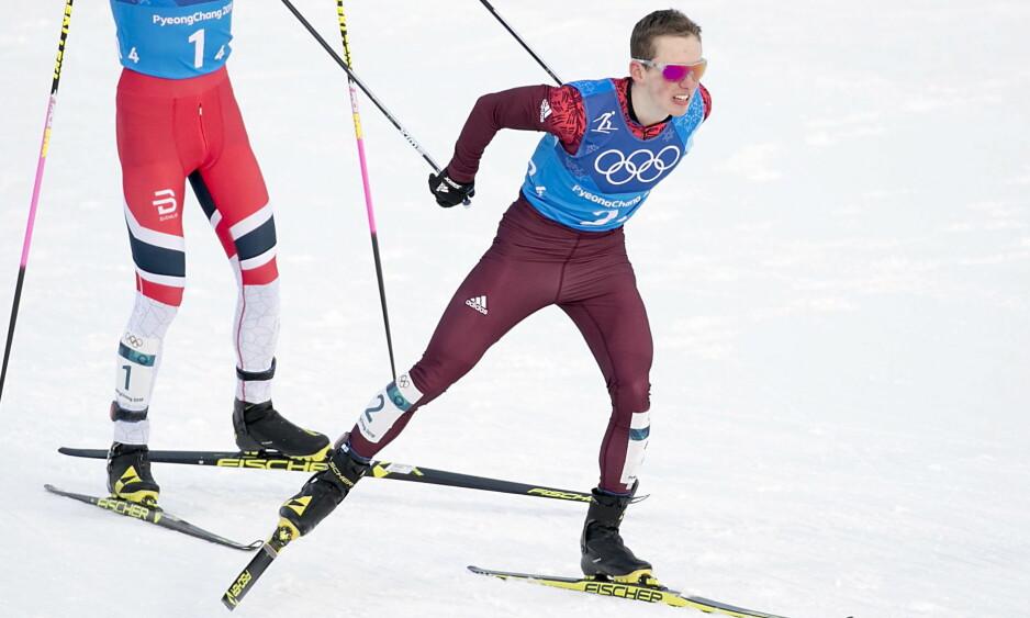 FORSVAR: Denis Spitsov ber sitt eget land slutte å mistenke norske idrettshelter. Foto: Bjørn Langsem / Dagbladet