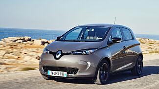 Vinn en splitter ny Renault Zoe