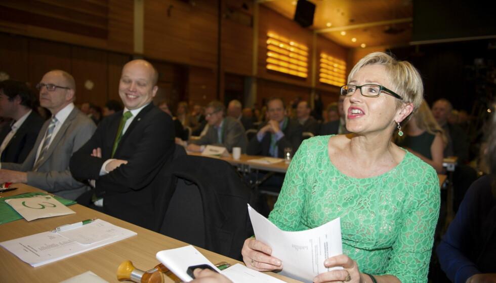 SVÆRT GROV: Liv Signe Navarsete hevder at hun mottok en svært grov melding for to år siden. Foto: Øistein Norum Monsen / Dagbladet