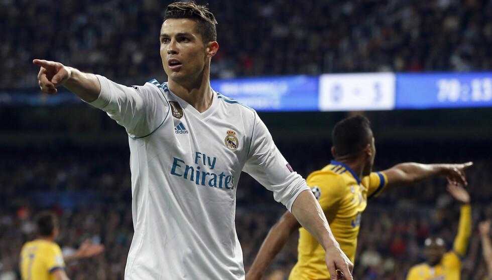 AVGJORDE: Cristiano Ronaldo reduserte for Real Madrid på overtid, og dermed er spanjolene klare for semifinale i Champions League. Foto: NTB Scanpix