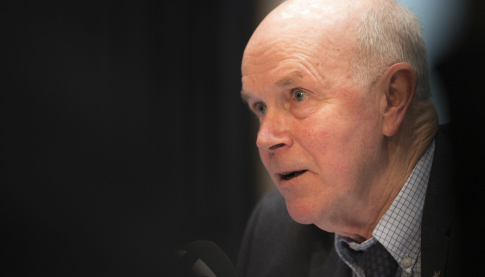 HARDT VÆR: Ifølge Le Monde mener WADA at russerne greide å påvirke Anders Besseberg.  Foto: Berit Roald / NTB scanpix