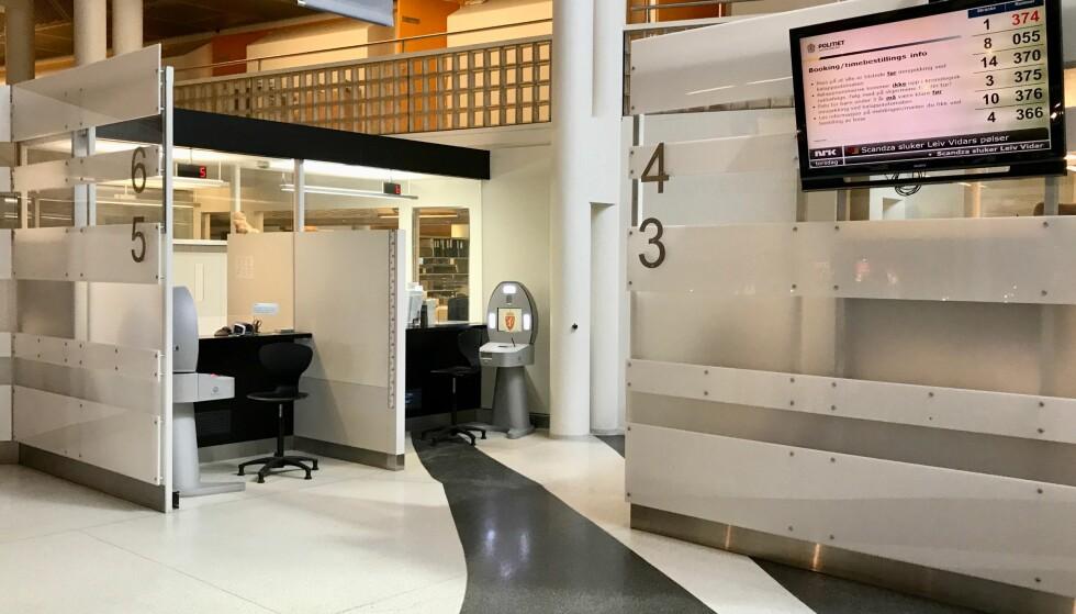 Lange dager i vente: Oslopolitiet legger opp til lange åpningstider og ekstradager ved passkontoret på Grønland for å få unna lange ventelister. Foto: Odd Roar Lange/The Travel Inspector