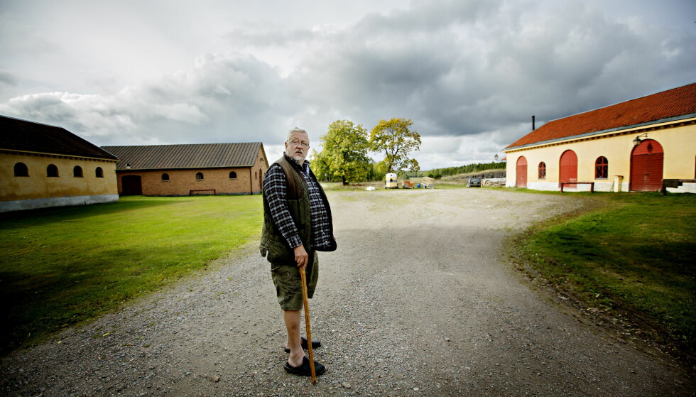 BRÅK: Den kjente forfatteren Leif GW Persson langer ut mot Svenska Akademien, som blant annet deler ut Nobels litteraturpris. Han synes ikke at de har håndtert konflikten «i det hele tatt». FOTO: Anita Arntzen / Dagbladet
